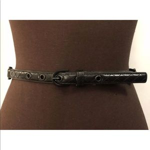 MICHAEL MICHAEL KORS Hamilton Faux Leather Belt